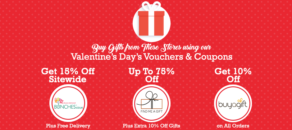 Buy Gifts From These Stores Using Our Valentine S Day S Vouchers