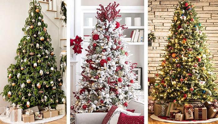 Christmas tree and light