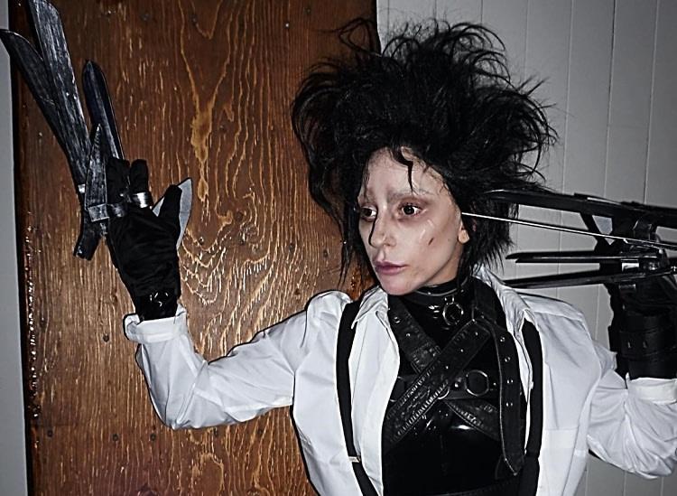 Lady Gaga as Edward Scissorhands