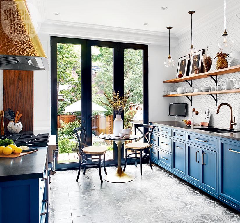 Paris Bistro Kitchen