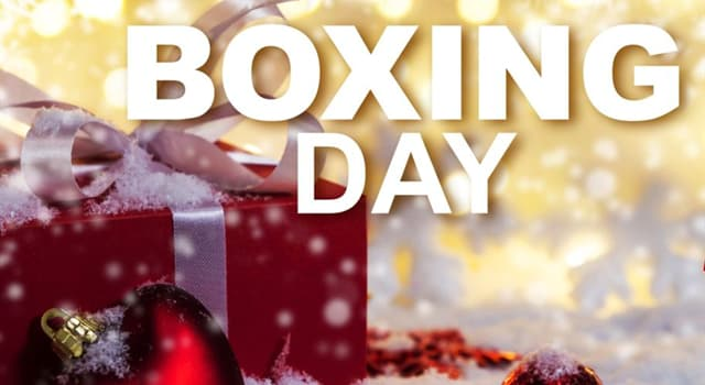 Boxing Day Sale UK
