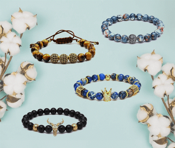 Men's Contemporary Bracelets That Compliment Every Style