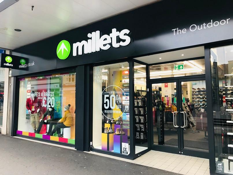 Millets discount codes