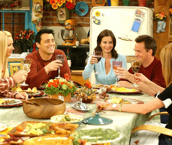Live Out The Goofy Moments Of Friendsgiving on Thanksgiving