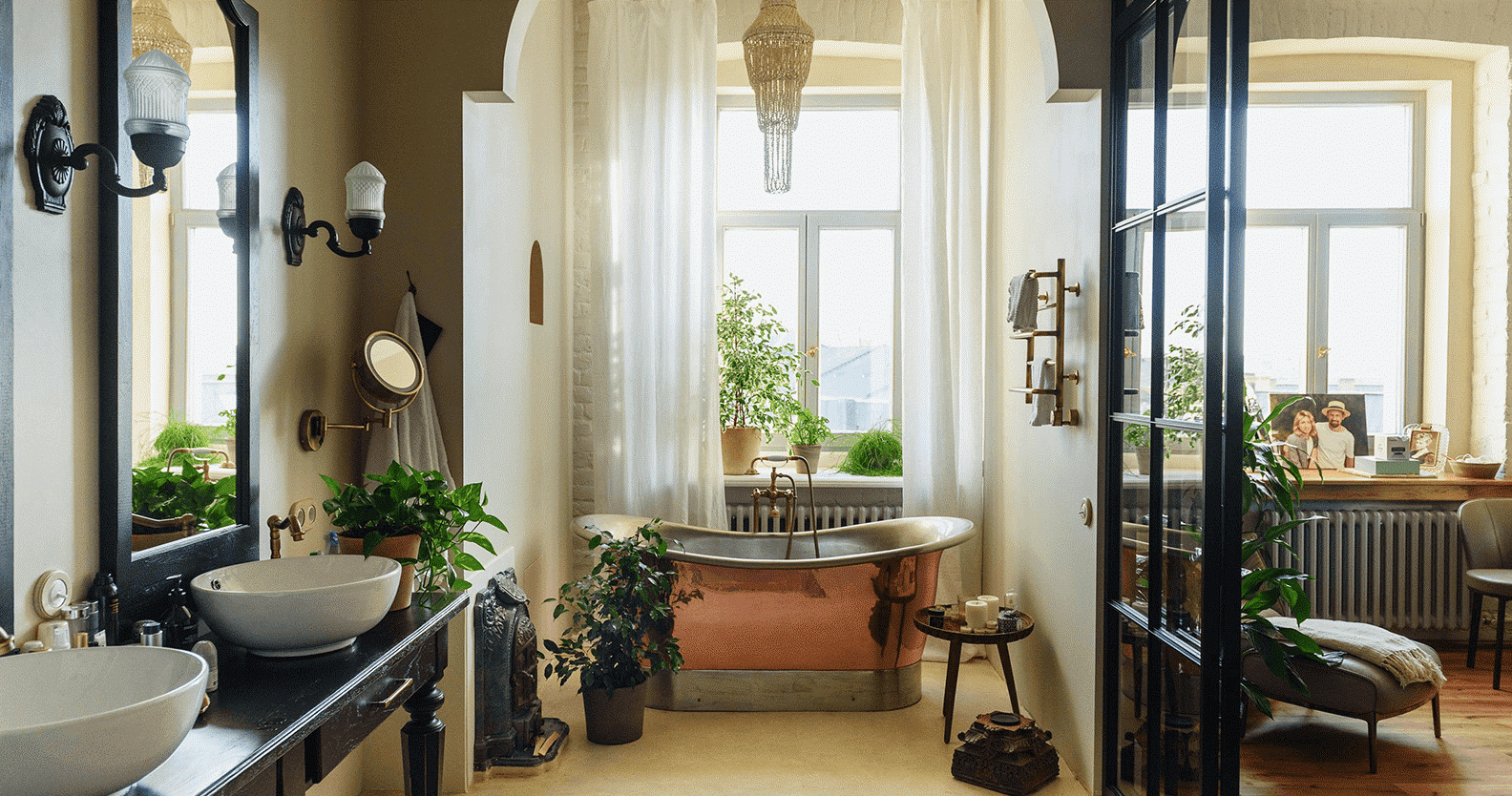 How long can you live in your bathroom for?